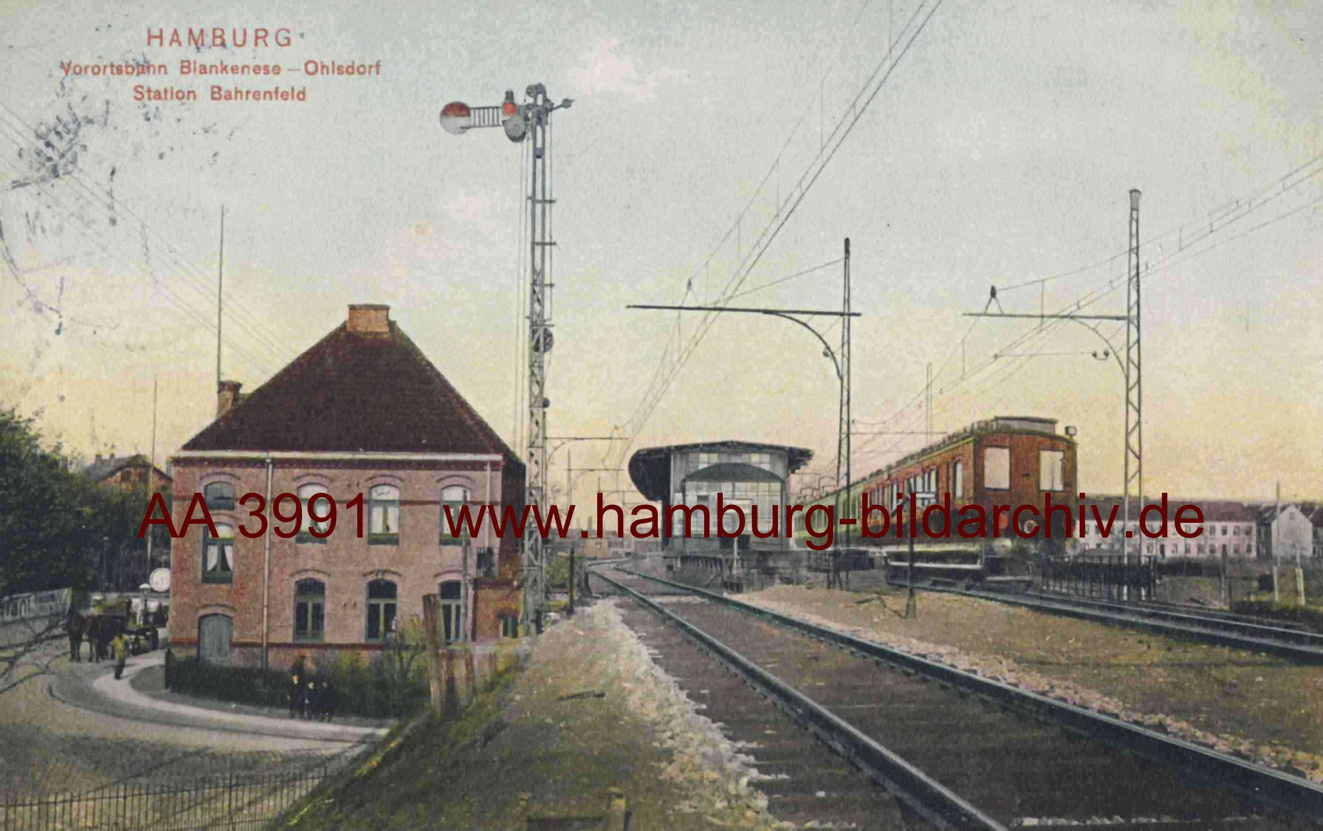 S bahnhof hasselbrook