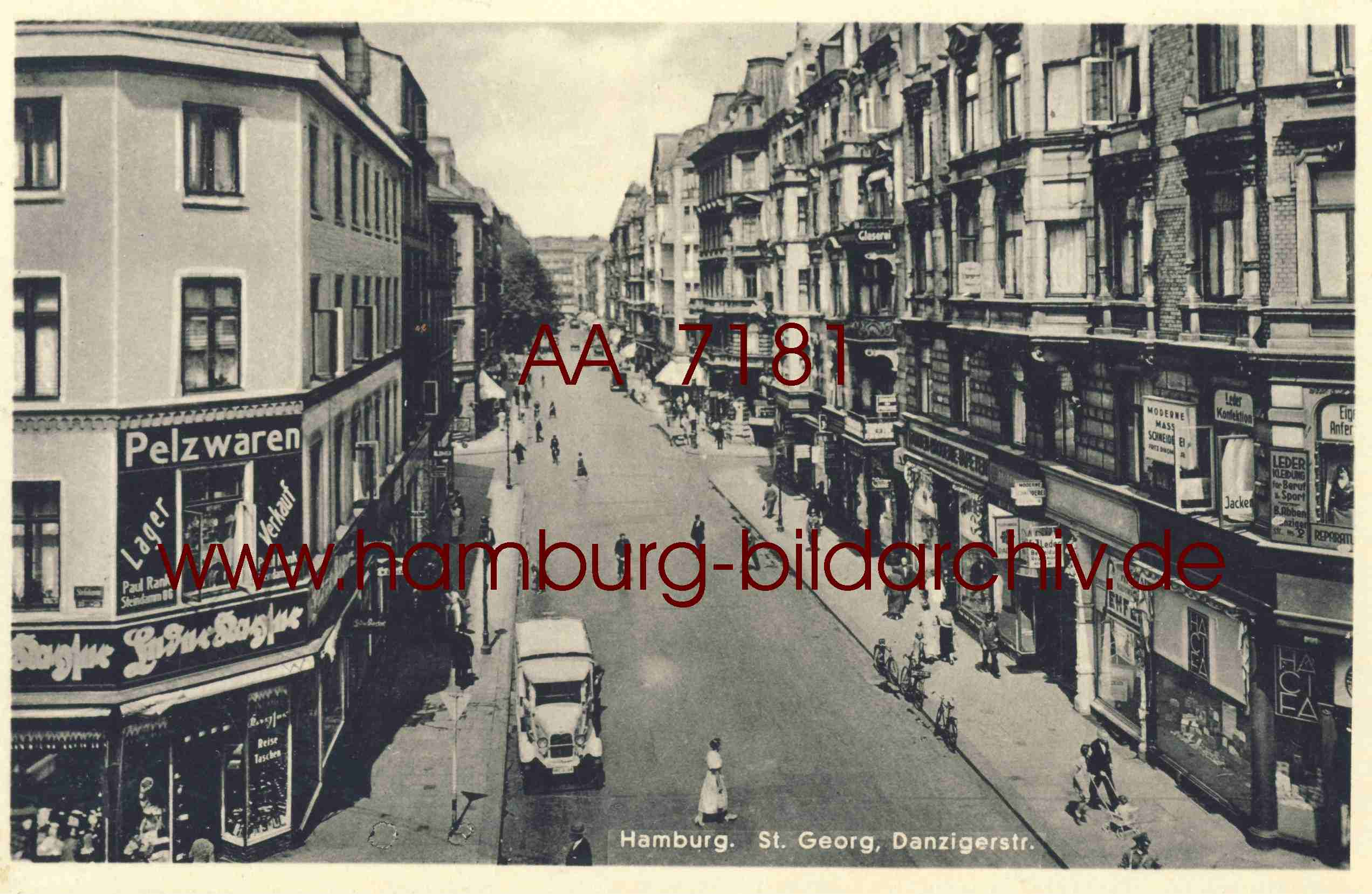 Hamburg Danziger Straße